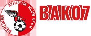 BAK 07 – Offizielle Webseite