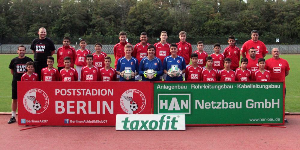 Proschüre Poststadion Berlin Berliner AK BAK Fußball Ground Hopping Moabit