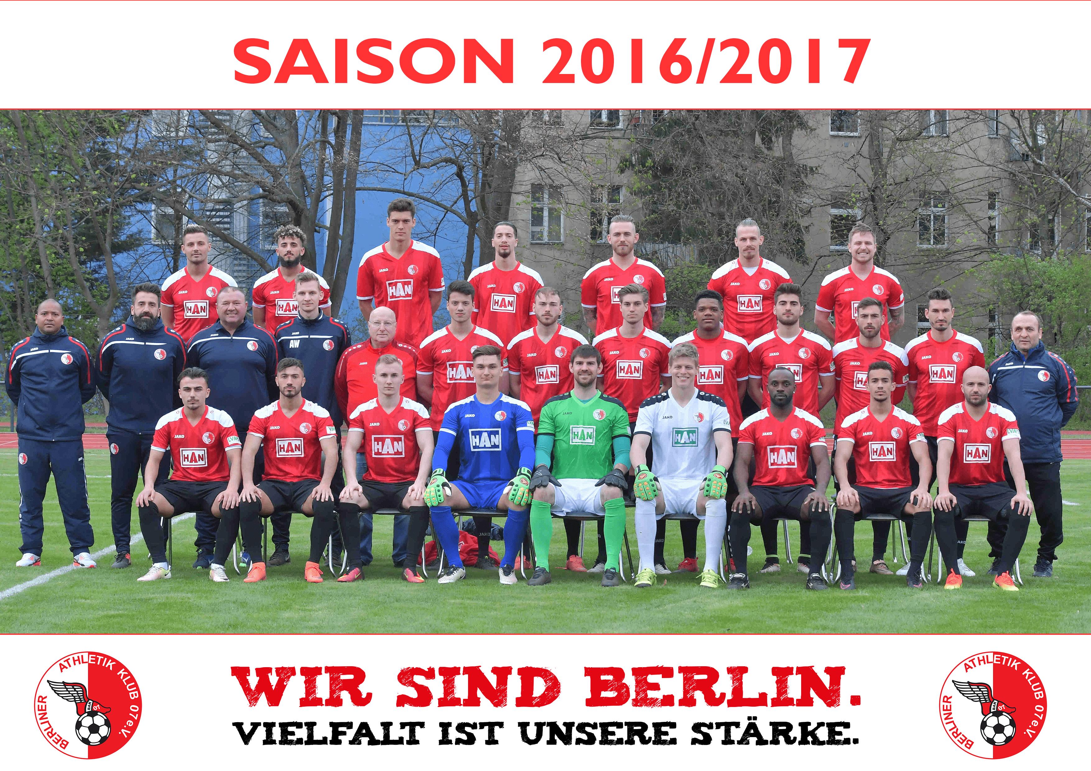 Mannschaftsfoto Rückrunde 2017-min